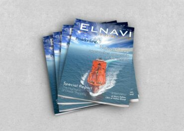 Interview of our CEO in ELNAVI, Monthly Shipping Review (Feb. 19 issue)