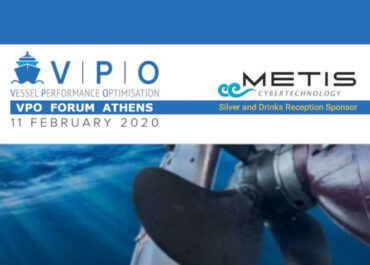 METIS – Silver & Networking Drinks Sponsor at VPO Athens 2020