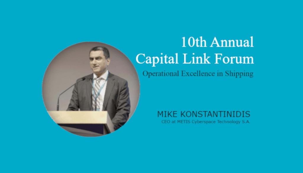 METIS - M. Konstantinidis at Capital Link