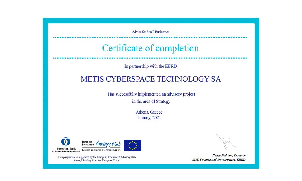 METIS collaborates with EBRD